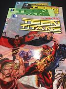 New 52 Teen Titans Graphic Novel Set Of 4, New 52 Vol. 1,2 And 5 And Vol. 1 Sh5