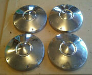 62 1962 Ford Fairlane Dog Dish Poverty Hubcaps 9 1/2 Fairlane Only Set Of 4