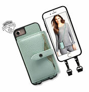 Wallet Case For Iphone 6 7 8 Se 2020, Must 4 Credit Card Holder Leather For