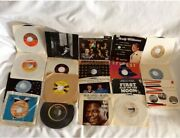 Collectible Vintage Mix Lot Of 19 45rpm Records Various Artist And Genres