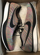 Menand039s Nike Flyknit Racer Multi Color Size 11 Mens 526628 004 Replacement Box