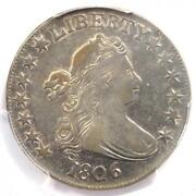 1806 Draped Bust Half Dollar 50c Coin - Certified Pcgs Xf45 - 2,100 Value