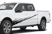 Graphic Brush Doors Stripes Wrap Decal Sticker For Ford Supercrew Cab F150 2020
