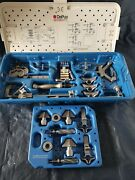 Depuy Specialist 2 Instruments Base Tibial Instruments In Carry Case