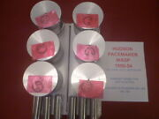1950-54 Pacemaker Wasp 232 Cu Inch 6 Set Of Pistons With Pins And Clips