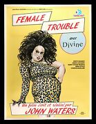Female Trouble ✯ Cinemasterpieces Divine Drag Race Gay 1984 Video Movie Poster
