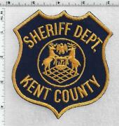 Kent County Sheriffand039s Dept. Michigan 1st Issue Shoulder Patch
