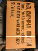 Ameriqual Meal Ready To Eat Mre Box 12 Meals A/a Case A Menus 1-12