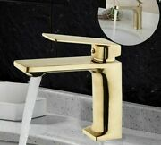 Deck Mounted Bathroom Brass Faucets Ceramic Plate Spools Contemporary Faucet New