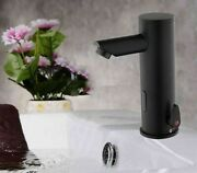 Bathroom Induction Spray Faucets Deck Mounted Taps Contemporary Style Spouts New