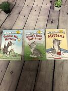 Level One Readersmittens Lot Of 3 Various Authors And Titles B-3 69