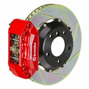 Brembo Gt Bbk For 05-06 Focus   Front 4pot Red 1a2.6012a2