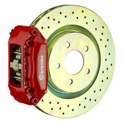 Brembo Gt Bbk For 05-13 Mazda3   Front 4pot Red 1a4.6004a2