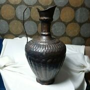 Antique Ottoman Jar Vase Oriental Islamic Hand Made And Craved 18th 65 Cm Long
