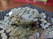 5 Five Standard Pounds Of 90 Silver Dimes - Avg Circ Mixed Date Us Silver Coins