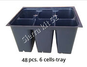 Sty 6 Cells Plant Seedling Seed Starter Trays