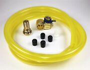 Fumoto F106sx Oil Drain Valve With Hd Pro 5' Hose Kit For Fumoto S And Sx Nipple