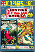 Justice League Of America 116, Dc 1975 100-pager Wein / Dillin Jsa Nm