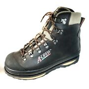 Andrew Wading Boots Shoes Fly, Brown Leather, Hand Made In Italy. Not Simms