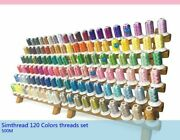 Embroidered Sewing Machines Thread Polyesters Viscose Dyed Patterned Threads New