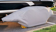 Ranger-grey Boat Trailer Fender/tire Storage Covers Exact Fit Tandem Fiberglass
