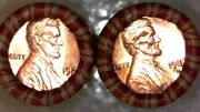 1982 D Bu Roll Lincoln Memorial Copper Cents 1 Order = 2 Sealed N.f.s. Rolls