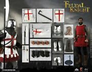 Coomodel 1/6 Se065 Feudal Knight Diecast Series Of Empires 12and039and039 Action Figure