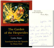 Carlos Rojas / The Garden Of The Hesperides Signed 1st Edition 1999