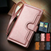 Flip Leather Wallet Starp Card Case Cover For Iphone 11 Pro Max/xs/xr/8 Plus/7/6