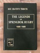 The Legends Of Springbok Rugby 1889-1989 Deluxe Multi-signed Edition Authentic