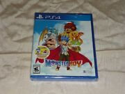 Monster Boy And The Cursed Kingdom Launch Edition W/stickers Sony Ps4 Sealed New