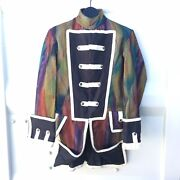 Sargent Peppers Jacket X Revolutionary War Psychedelic Fusion Coat Size S/m