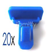20x For Toyota Lexus Blue Nylon Fender Flare And Bumper Clips Retainer 75392-35200