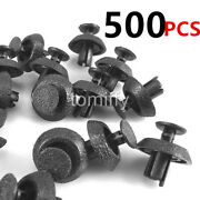Set Of 500 Engine Cover Grille Bumper Retainer Clips Fastener For Toyota Lexus