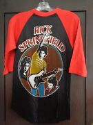 Vintage Early 80's Rick Springfield Concert Jersey/shirt