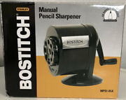 Bostitch Counter-mount/wall-mount Manual Pencil Sharpener Black Mps1-blk