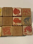 Early 20th Century To 1950's Kids Playing Blocks Childrens Toys