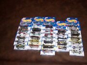 Hot Wheels - Red Stripe Card - Lot Of 31 Cars - No Doubles - New
