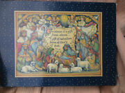 Lang And Wise Angel And Nativities Susan Winget Adore Him 16 Piece Nativity Set