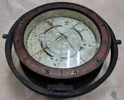 Wwii 1940 The Lionel Corporation N.y U.s. Navy Bu Mark 1 Ships Compass 8