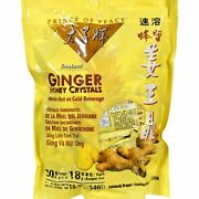 Of Peace Ginger Honey Crystals - 30 Count 4 Pack