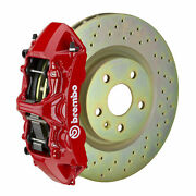 Brembo Gt Bbk For 05-14 Mustang V6 Excl. Non-abs | Front 6pot Red 1m4.8001a2