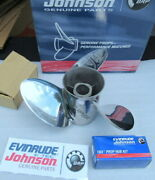 Evinrude Johnson Omc 763923 Viper Propeller Oem New Factory Boat Parts