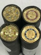 2019 2 Mr. Squiggles Blackboard Bill And Gus In Cotton And Co Coin Set Roll
