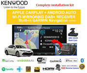 Kenwood Dnx9190dabs Car Stereo Upgrade To Suit Toyota Camry 2018 To 2019