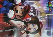 Mario Odyssey And Arms Big Size Reversible Poster