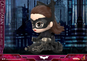 Hot Toys Catwoman W/batpod Cosbaby Mini Figure Cosb725 Ht Model Doll Toys Gift