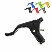 Gritshift Universal Shorty Motorcycle Clutch Lever - 1 Finger Easy Pull
