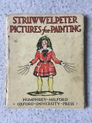Rare First Edition Struwwelpeter Pictures For Painting - Hoffmann, Heinrich