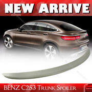 Fit For Mercedes Benz Glc C253 X253 Coupe Rear Trunk Spoiler 15-20 Glc300 Paint